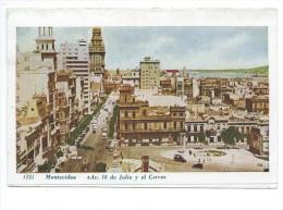 Montevideo Av. 18 De Julio Y El Cerro 1951 - Uruguay