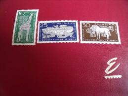 Timbres DDR  Neufs** Année; 1965   Michel .  N°   1093 / 95 - [6] République Démocratique