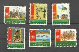 Vanuatu N989 à 994 Cote 12.75 Euros - Vanuatu (1980-...)