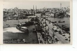 Istanbul Galata Köprüsü - Turquie
