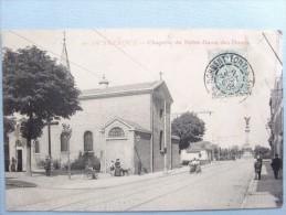 59 ,dunkerque ,rue Et Chapelle Notre Dame Des Dunes En 1905 - Dunkerque