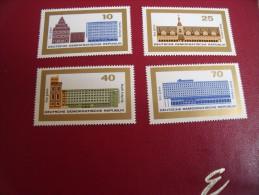 Timbres DDR  Neufs** Année; 1965   Michel .  N°   1126 / 29 - [6] République Démocratique