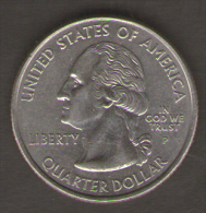 STATI UNITI QUARTER DOLLAR 2005 OREGON - 1999-2009: State Quarters