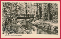 DDR-AK BERLIN-Rahnsdorf ´Hegemeisterweg' ~ 1958 - Treptow