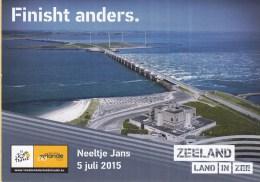 Nederland - Tour De France 2015 - 5 Juli 2015 - Neeltje Jans - Zeeland/Zélande - Ongebruikt - Wielrennen