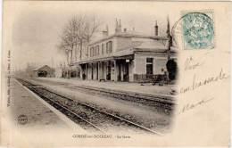 CONDE-sur-NOIREAU – La Gare - France