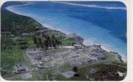 PLAYA DEL CARMEN - Quintana Roo, Panorama,    nice stamp  1986