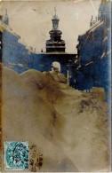 PONTARLIER – Carte-photo, Hiver 1907 - Pontarlier
