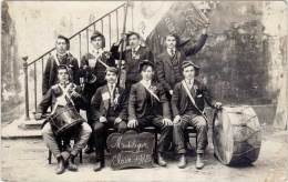 MONTELEGER – Carte-Photo Classe 1913 - France