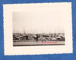 Photo Ancienne - CANNES - Le Port - Mai 1958 - Voir Bateau Horizon Ship Boat - Bateaux