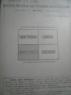 N.4 Cartine Guerra Anno 1917 Trieste E Venezia Giulia Complete Con Busta-Per Studio Località 1^WW  ! - Books, Magazines  & Catalogs
