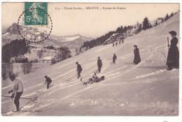 113.  -  Haute-Savoie.  -  MEGEVE.   -  Equipe  De  Skieurs - Megève