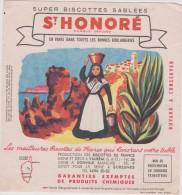 Buvard :  ST  HONORé :  Corse, Bastia , Ajaccio - Buvards, Protège-cahiers Illustrés