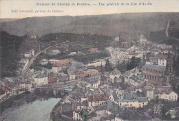 Bouillon - Vue Générale De La Côte D'Auclin (Marcovici, Colorisée) (Edit Stroobant, Gardien Du Château) - Bouillon