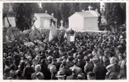 PEZENAS – Carte-photo : Discours Au Monument Aux Morts 11 Novembre 1938 - Pezenas
