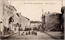 PRADE Le LEZ – Place Du Centre - France