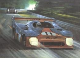 24 Heures Du Mans 1975   -  Derek Bell  -  Gulf-Mirage GR8  -  34 X 26 Art Print By Michael Turner - Le Mans