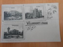 HELLOCOURT B DIEUZE - Dieuze