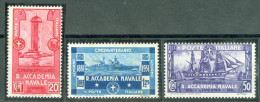 1931 Accademia Navale MNH** - 1900-44 Victor Emmanuel III