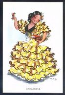 Ilustrador *M.R.G. - Andalucia* Ed. JBR - B Serie Nº 60-3. Nueva. - Vestuarios