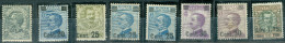 1924-25 Sovrastampati MH* - 1900-44 Victor Emmanuel III
