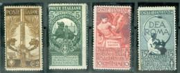 1911 50° Unità D´Italia MH* - 1900-44 Victor Emmanuel III