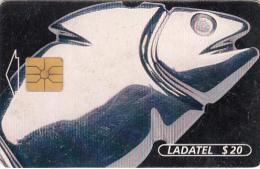 MEXICO - Plateria Prehispanica/Dije Mezcala Pez(3/6), chip GEM1, 02/97, used