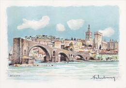 Carte Postale    BARRE & DAYEZ    AVIGNON   Le Pont St Benezet   2131 C - Avignon