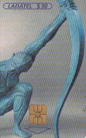 MEXICO - Destino Cosmico/La Modernidad(1/3), chip G&D, 10/99, used