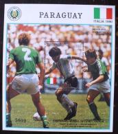 PARAGUAY Coupe Du Monde Football ITALIA 90, Maradona ** MNH. - Coupe Du Monde