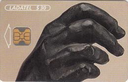 MEXICO - A.Rodin-Manos 1997/Mano#2(4/6), chip OB1, 11/97, used