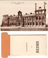 REIMS – L'Hôtel De Ville Système Tirette + Dépliant - Reims