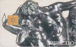 MEXICO - A.Rodin Esculturas 1996-1997/La Eterna Primavera 1884(2/6), chip GEM, 01/97, used
