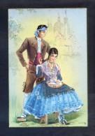 Ilustrador *M.R.G.* *Aragón. Zaragoza* Ed. C. Y Z. Serie 543-B. Nueva. - Vestuarios