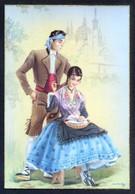 Ilustrador *M.R.G.* Ed. C. Y Z. Serie Completa Nº 543 - B. Lote 5 Diferentes. Nuevas. - Costumi