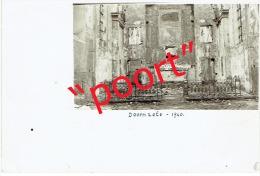 DOORNZELE - November 1940 -prachtige fotokaart met handschrift en handtekening van toenmalige E.H. Pastoor
