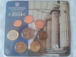 Mint Set Euro 2004 Grèce - Coffret BU - Greece