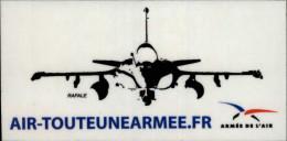 AUTOCOLLANT - ARMEE DE L'AIR - Rafale - Vignettes Autocollantes