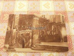 Betlehem Palestine Interior Church Of The Nativity - Palestina
