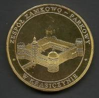 Poland, Jeton, Krasiczyn, Castle. - Tokens & Medals