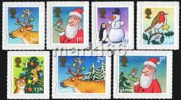 Great Britain - 2012 - Christmas - Mint Stamp Set - Nuevos