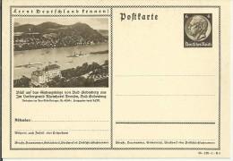 ALEMANIA REICH ENTERO POSTAL 1938 SIEBENGEBIRGE - Germany
