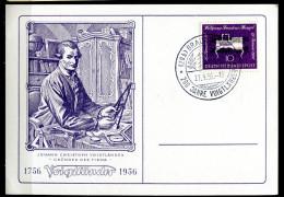 "Germany 1956 Heimatbeleg/Card Braunschweig M.Mi.Nr.228 U.SST""Braunschweig-200 J.Firma Voigtländer-Kameratechnik ""1 Beleg - Fabbriche E Imprese"