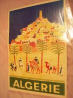 Affiche -ALGERIE.
