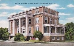 Ymca Building On Main Street Hattiesburg Mississippi - Hattiesburg