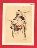 Publicité + Personnage De Régions Diverses ... Dessinateur ... Illustrateur J. SCHERBECK ... Femme ...(n°24) - Reclame