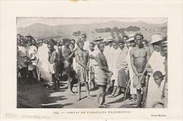 MADAGASCAR Convoi De Fahavalos Prisonniers 1900 - Unclassified