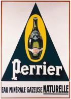 Postcard - Poster Reproduction - Perrier Eau Minérale Gazeuse Naturelle - Publicité
