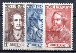 1/ Zone Française En Allemagne : N° 11 à 13 Neuf  XX , Cote : 8,20 € , Disperse Trés Grosse Collection ! - French Zone