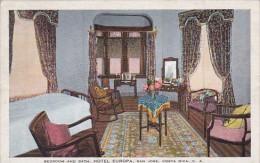 Costa Rica San Jose Interior Bedroom and Bath Hotel Europa